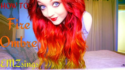 hair color put your picture how to fire ombr 233 hair dye tutorial how i put my