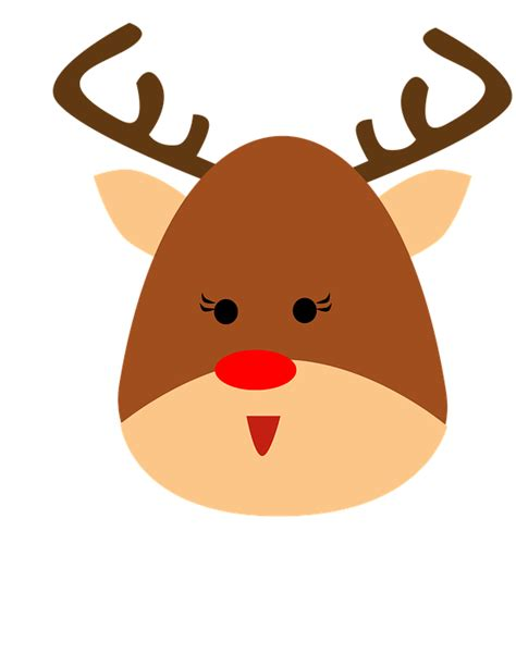 imagenes navidad renos ilustraci 243 n gratis reno animales cuernos navidad