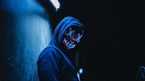 hoodie mask guy laptop full hd p hd  wallpapers images backgrounds