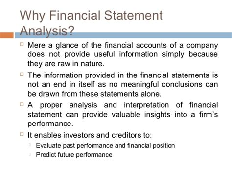 objective of financial statement analysis 28 objectives of analysis of financial statements
