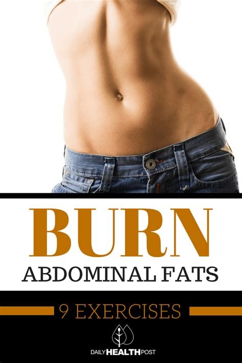 burn fats in your abs 9 exercises to burn belly fat in 14 days