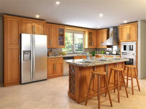wood kitchen furniture kitchens with oak cabinets and