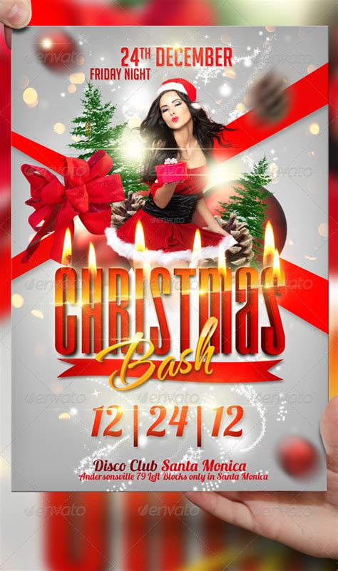 Xmas Bash Flyer Template bash flyer template by lordfiren on deviantart