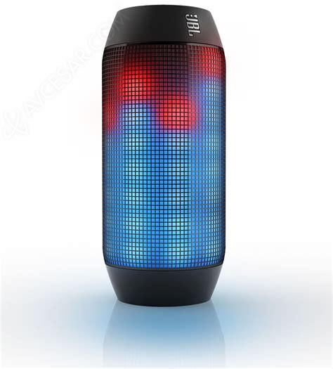 jbl light up speaker amazon jbl pulse enceinte lumineuse bluetooth nfc avcesar com