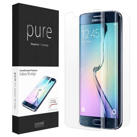 Samsung Galaxy S7 Edge 3d Imak Curved Screen Tempe Berkualitas 1 araree 3d curved screen protector for samsung galaxy s6 edge