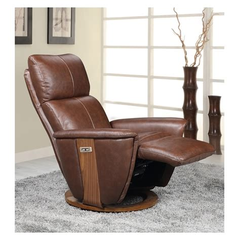 leather electric recliner chairs halifax electric recliner chair in brown leather and walnut