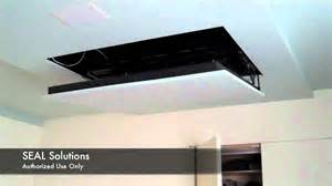 seal solutions motorized flip auton tv lift