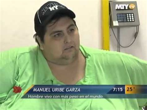 Manuel Meme Uribe - manuel uribe once the world s heaviest man dies aged 48