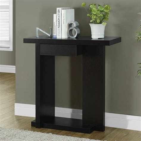 console accent tables console accent table in rich cappuccino i 2458