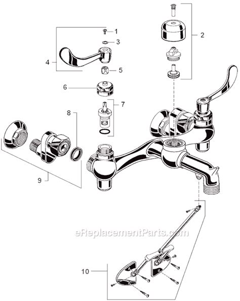 american standard 4005f parts list and diagram american standard 8345 115 002 parts list and diagram