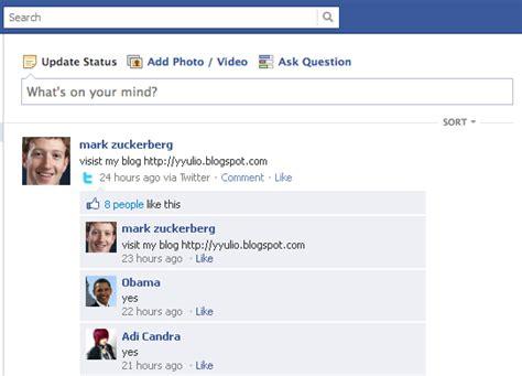 membuat akun facebook palsu cara membuat status dan komentar palsu di facebook