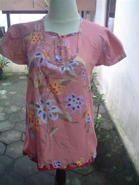 Blus Batik Hasbiyah 2 aneka blus kantor batik laweyan