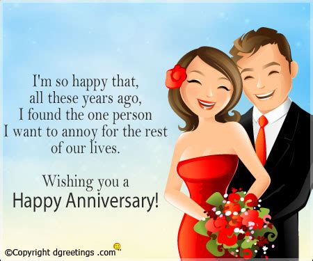 Wedding Anniversary One Liner Quotes by Anniversary Quotes Humorous Anniversary Quote For