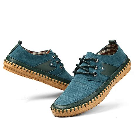 new shoes 2015 genuine leather casual shoes luxury top
