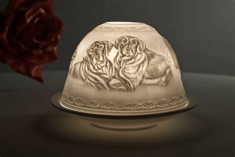 domelights motiv 30160 hunde teelichthalter windlicht deko - Weiße Kerzenhalter
