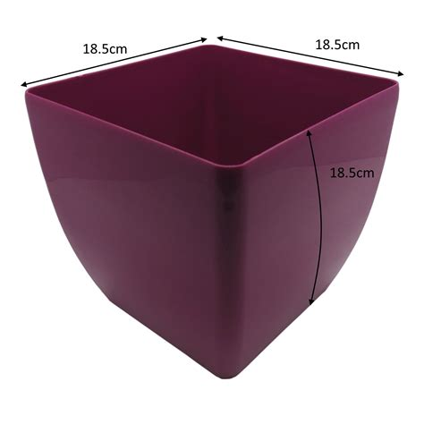 plant pots terracotta strong quality plastic cactus house strong plastic square plant flower weed cactus pots in
