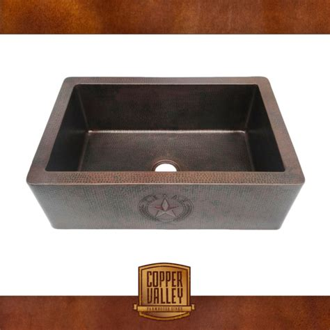 copper valley farmhouse sink 14 lone