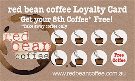 coffee rewards card template coffee loyalty cards recycled