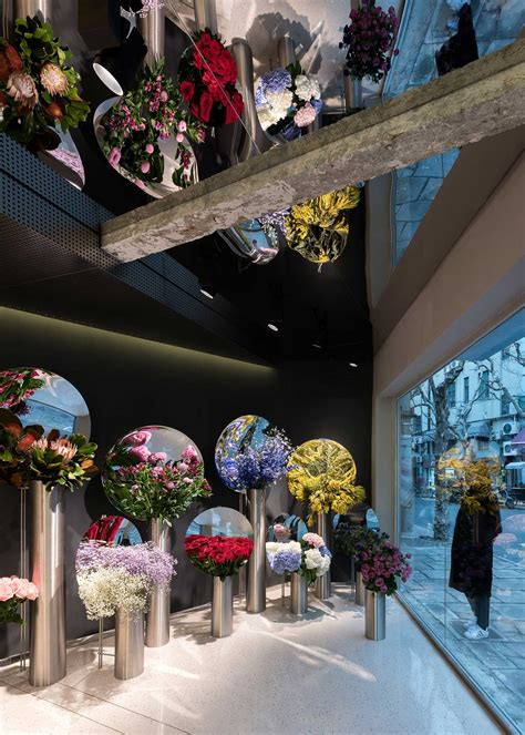 design flower shop flower shop in shanghai by alberto caiola yellowtrace