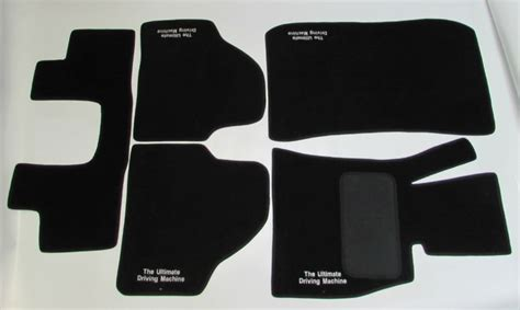karpet bmw e90 the ultimate driving machine hitam bahan