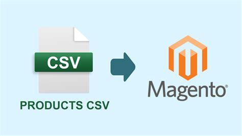 magento csv import template magento importing csvs