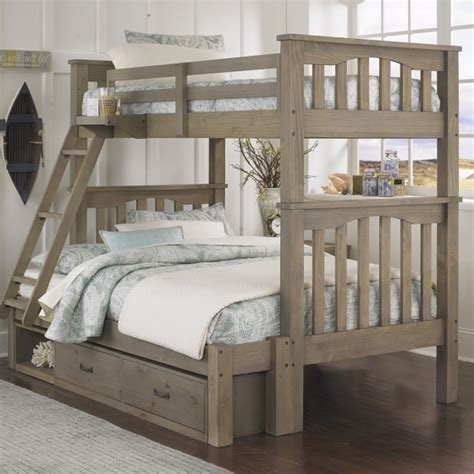 bunk beds with full on bottom and twin on top bunk bed with full on bottom and twin on top bed ideas