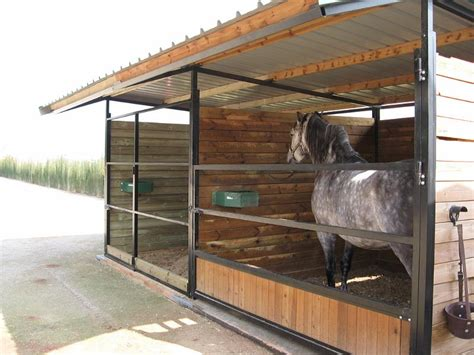 cobertizos para caballos construcciones h 237 picas cobertizos y corraletas cobertizo
