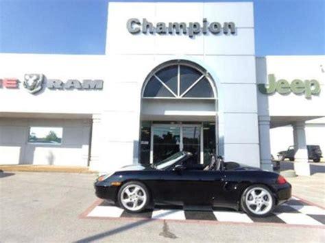 Chion Chrysler Dodge Athens Al 2002 Porsche Boxster For Sale In El Monte Ca