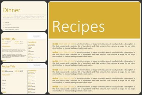 free cookbook template anuvrat info