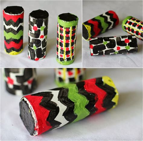 colorful toilet paper colorful maracas made from toilet paper rolls great