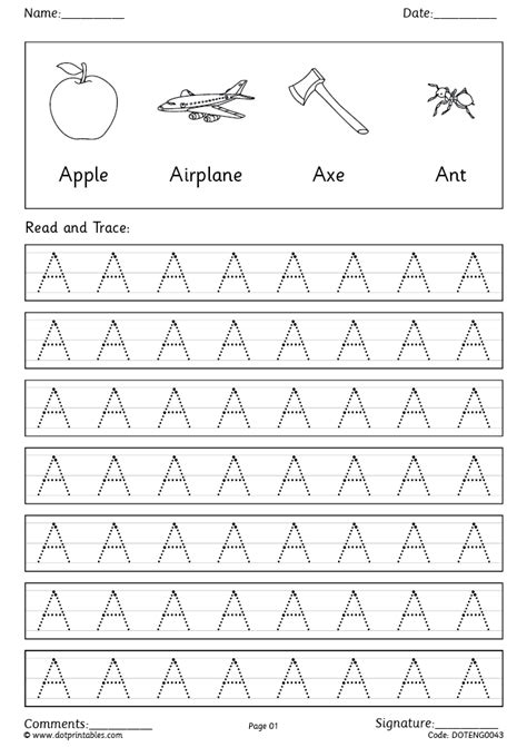 free printable english worksheets for reception dot printables