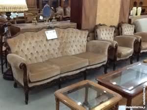 salon 3 pi 232 ces style baroque velours beige 224 vendre 224 la