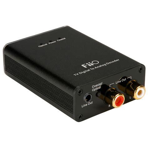 Konverter Tv Digital fiio d07 tv digital analog converter