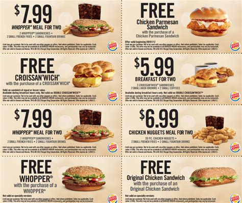 printable burger king vouchers 2015 burger king coupons january 2015