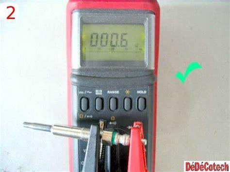 tester les bougies de pr 233 chauffage du moteur diesel tuto
