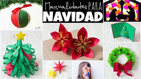 imagenes de manualidades navidenas para ninos ideas faciles para navidad manualidades
