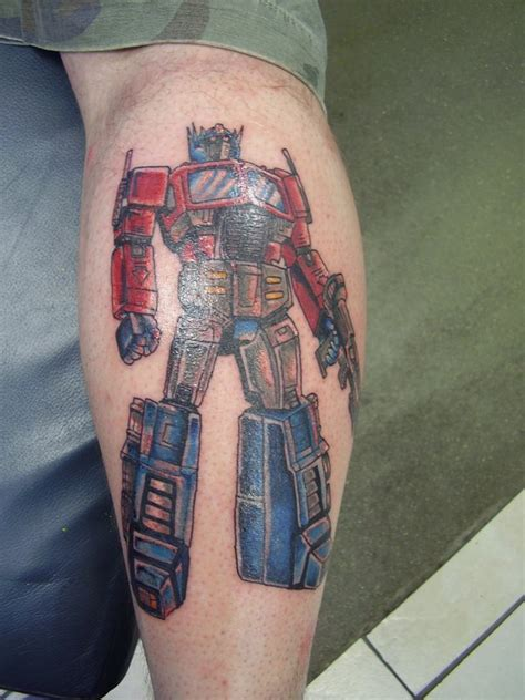 optimus prime tattoo optimus prime by dragontattooist on deviantart