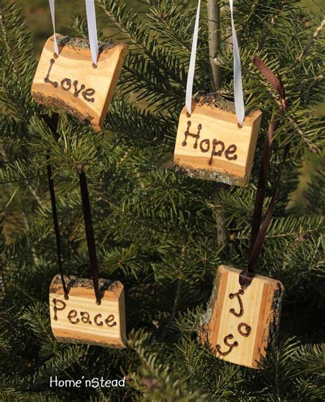 country christmas ornaments ideas  pinterest