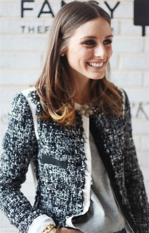 Style Ideas 50s Style Cropped Colllarless Jacket by Palermo In A Classic Chanel Tweed Jacket Chanel