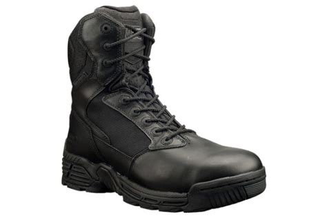 most comfortable law enforcement boots stealth force 8 0 side zip men s police boots magnum