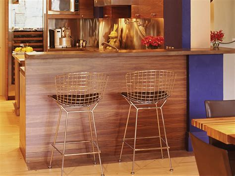 Gold Wire Bar Stools by Bertoia Bar Stool Design Stefan Abrams Look Charm
