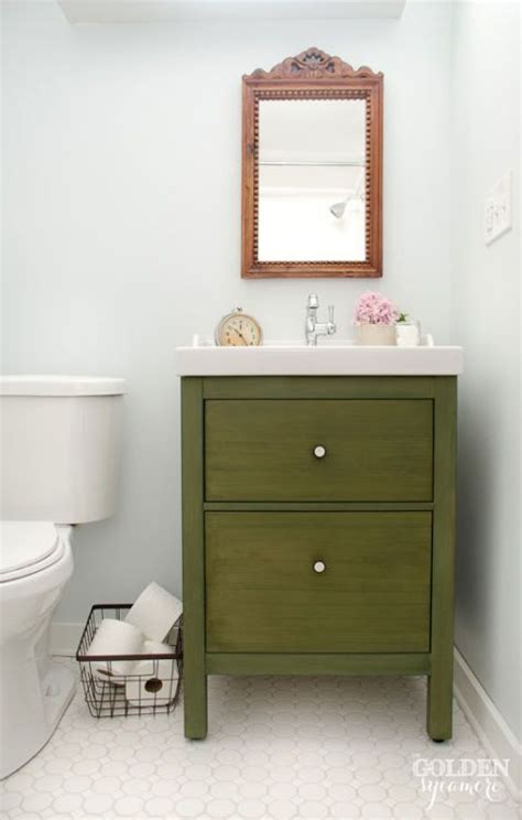 pedestal sink storage ikea 15 genius ikea hacks that solve all of your storage