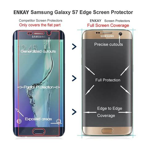 Tempered Glass Notron Samsung All Tipe transparent enkay 0 2mm samsung galaxy s7 edge tempered glass