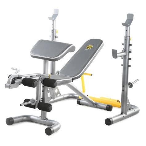 bench with weights golds gym xrs20 weight bench weight benches at hayneedle