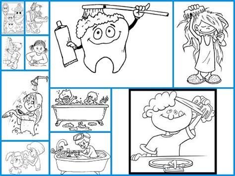 imagenes para colorear utiles de aseo personal folleto sobre la higiene personal apexwallpapers com