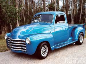 1948 chevy half ton back in the day