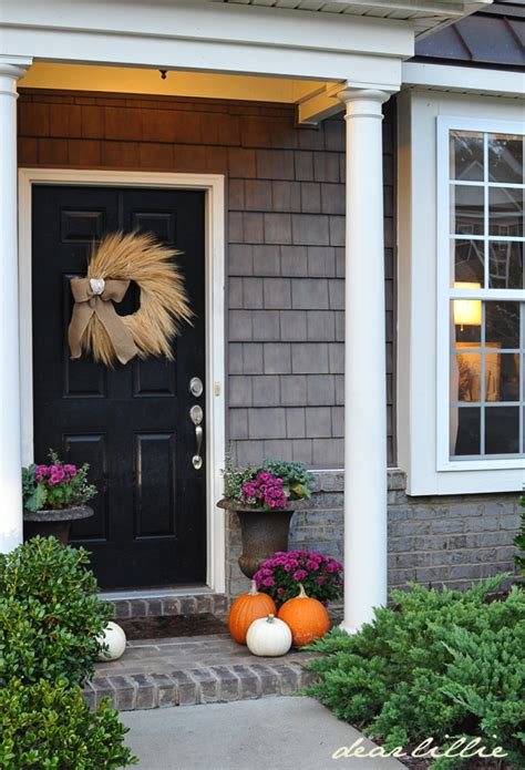 Front Door Giveaway Dear Lillie Our Front Door And Wreath Giveaway