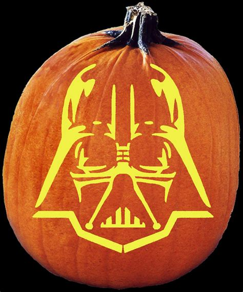 darth vader pumpkin template darth vader pumpkin carving craftbits
