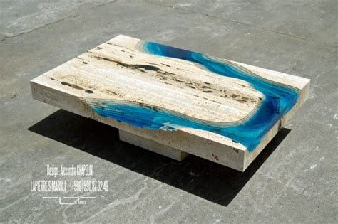 L Table by Lagoon Coffee Table From La Table