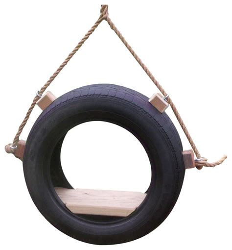 tire swing kits tire tree swing with rope and hanging kit traditional